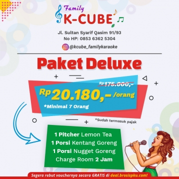 K-cube Family Karaoke Deluxe Room Deal