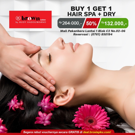 Brown Salon Buy 1 Get 1 Deal