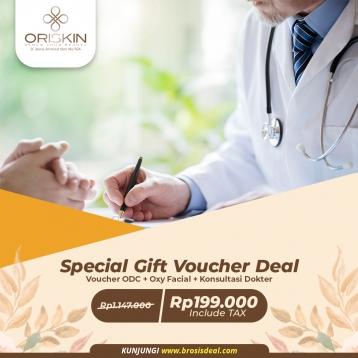 Oriskin Special Gift Voucher Deal
