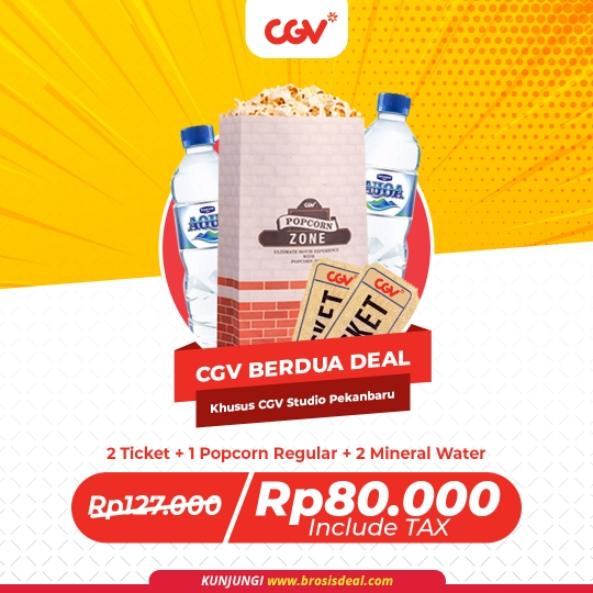 Cgv Cinemas Studio Pekanbaru Berdua Deal (monday-thursday)