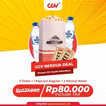 Cgv Cinemas Studio Pekanbaru Berdua Deal (monday-thursday)
