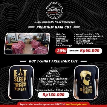 The Brothers Ruxino Barbershop Premium Deal