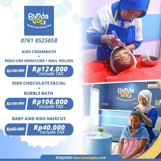Bunda Esti Kids Spa Deal