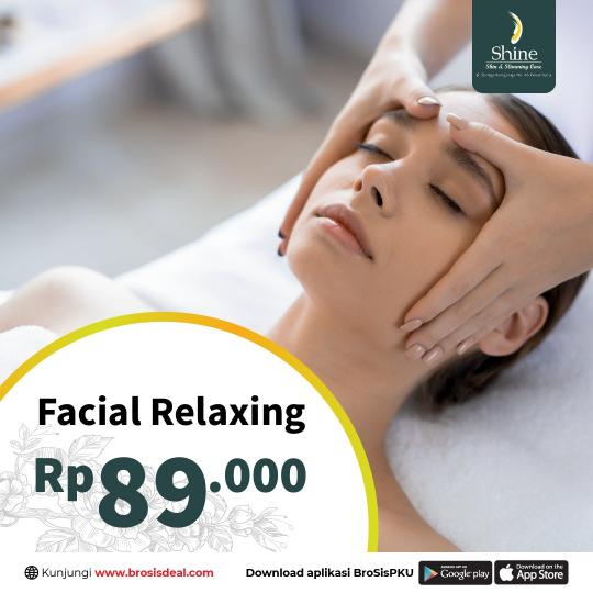 Shine Clinic Facial Relaxing Deal