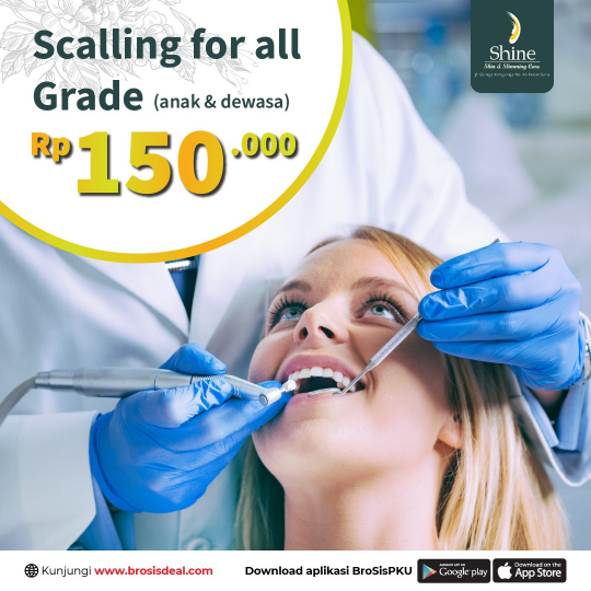 Shine Clinic Scalling For All Grade