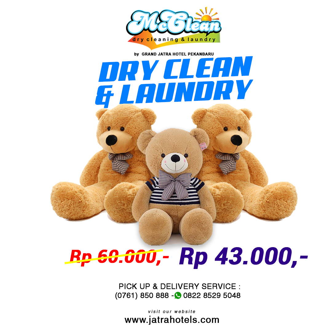 Jatra Mc Clean Dry Clean & Laundry Deal