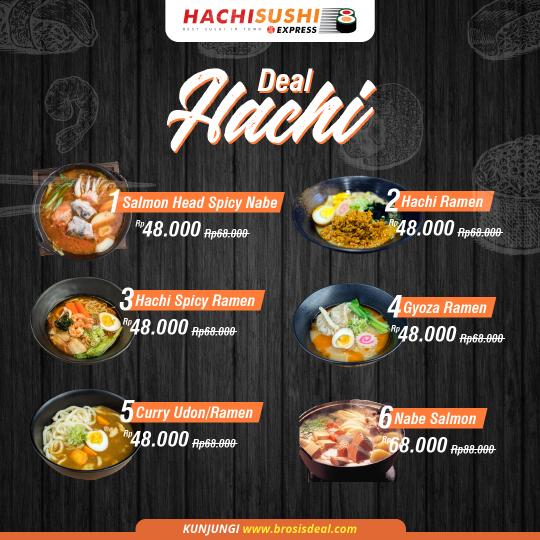 Hachi Sushi Express Deal