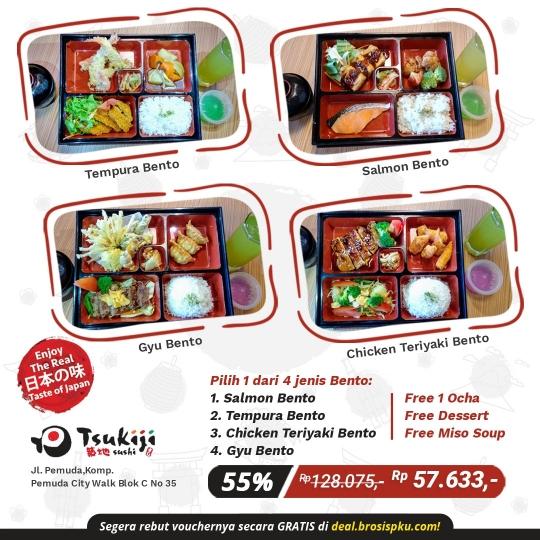 Tsukiji Sushi Bento Deal