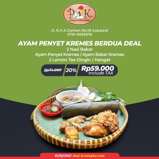 Pondok Ayam Kremes Deal