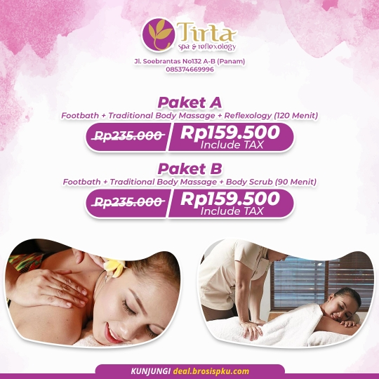 Taman Tirta Spa & Reflexology Deal (monday-friday)