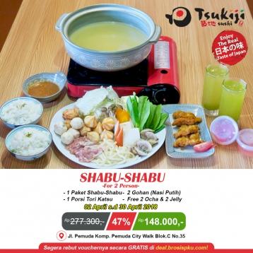 Tsukiji Sushi Shabu-shabu Deal