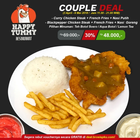 Happy Tummy Couple Deal
