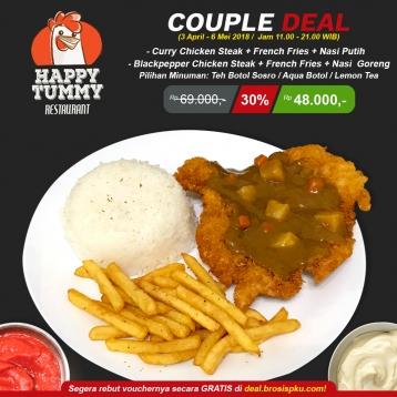 Happy Tummy Couple Deal