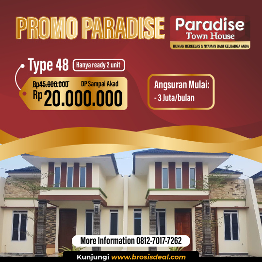 Paradise Town House Deal