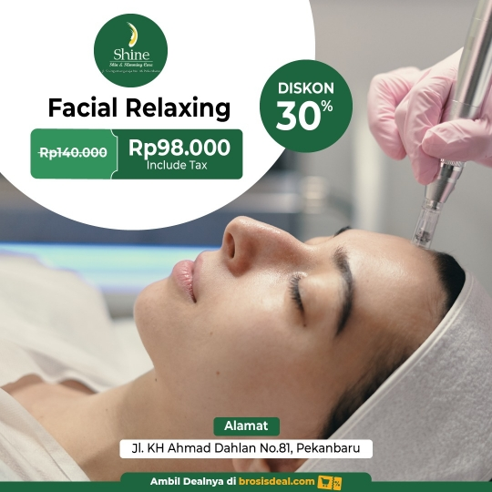 Shine Clinic Facial Relaxing Deal