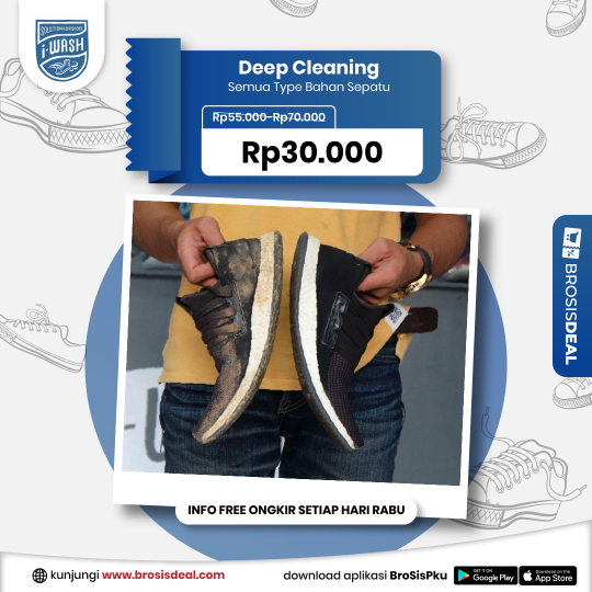 Iwash Deep Cleaning Deal