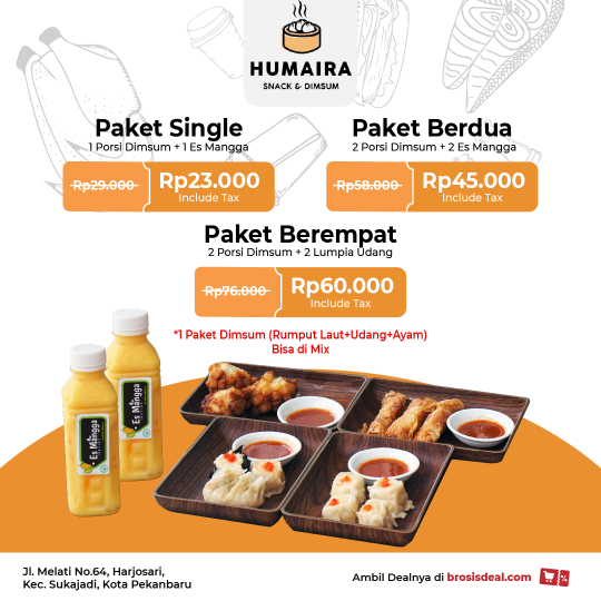 Humaira Snack And Dimsum Deal