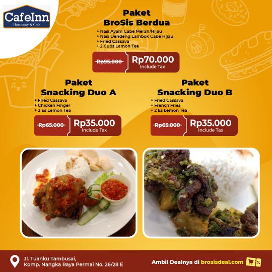 Cafeinn Homestay & Cafe Brosis Deal