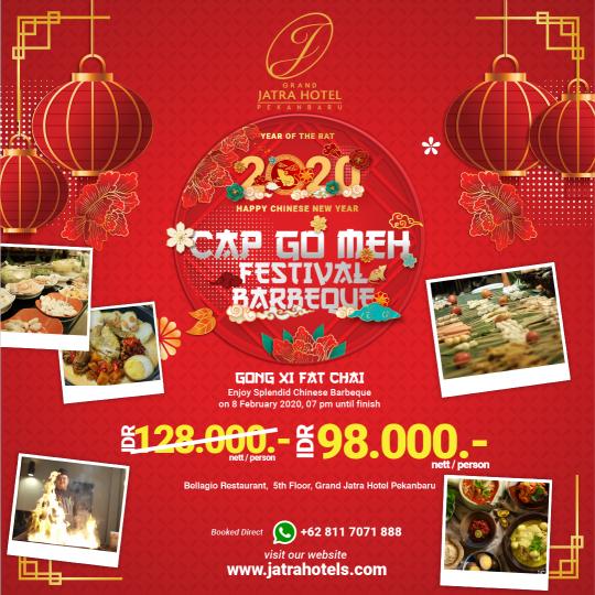 Jatra Cap Go Meh Festival Barbeque Dinner Deal