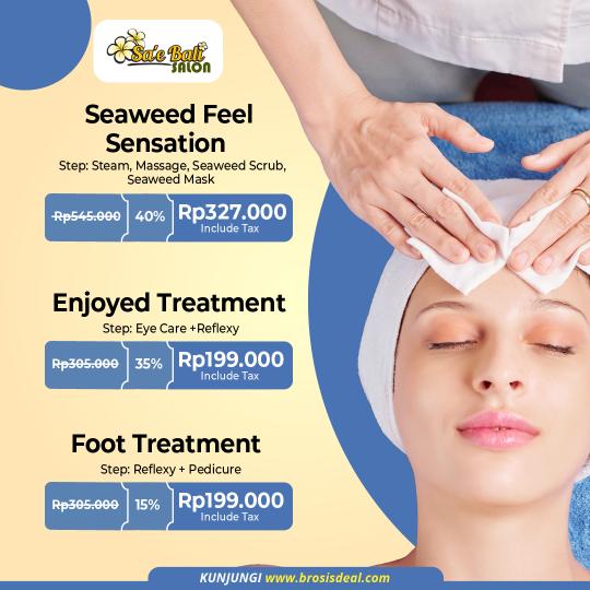 Sae Bali Salon Massage Deal