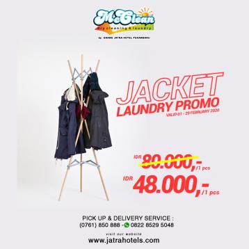 Jatra Mc Clean Jacket Laundry Deal