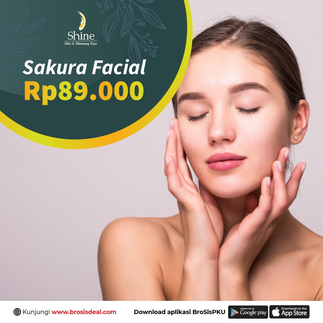 Shine Clinic Sakura Facial Deal