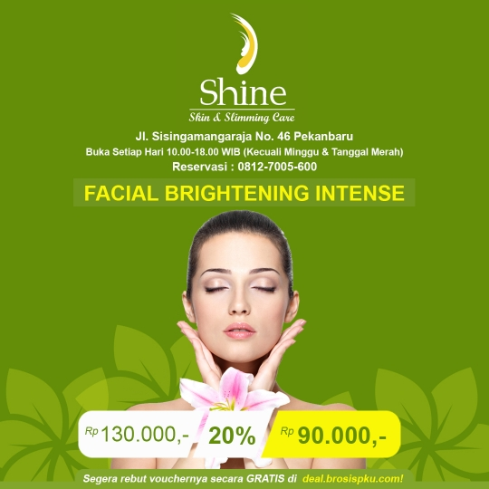 Shine Clinic Facial Brightening Intense Deal
