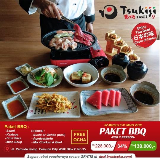Tsukiji Sushi Bbq Deal