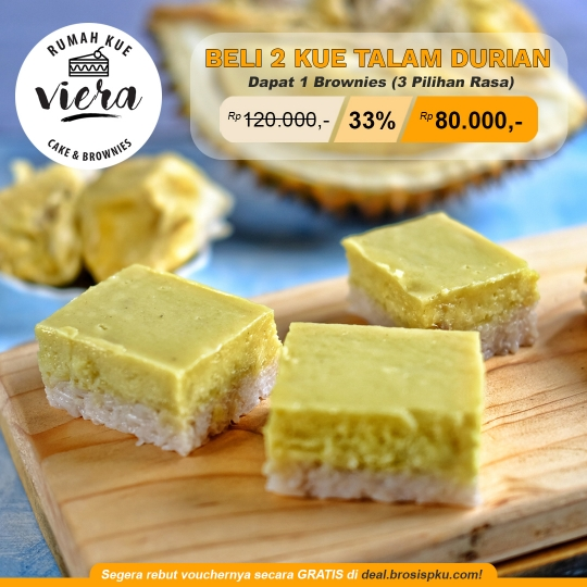 Rumah Kue Viera Talam Durian Deal