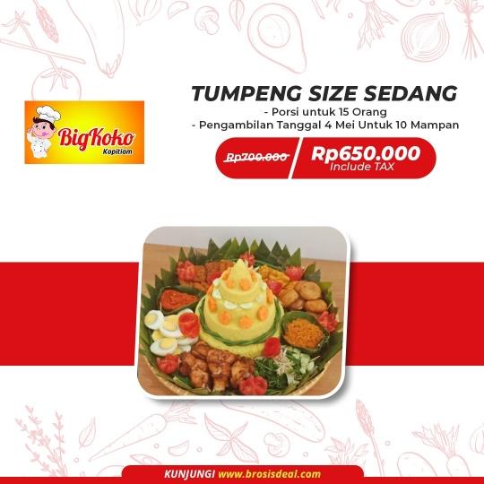 Bigkoko Nasi Tumpeng Deal