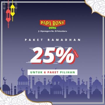 Paparons Pizza Ramadhan Deal