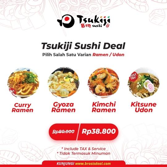 Tsukiji Sushi Ramen Udon Deal