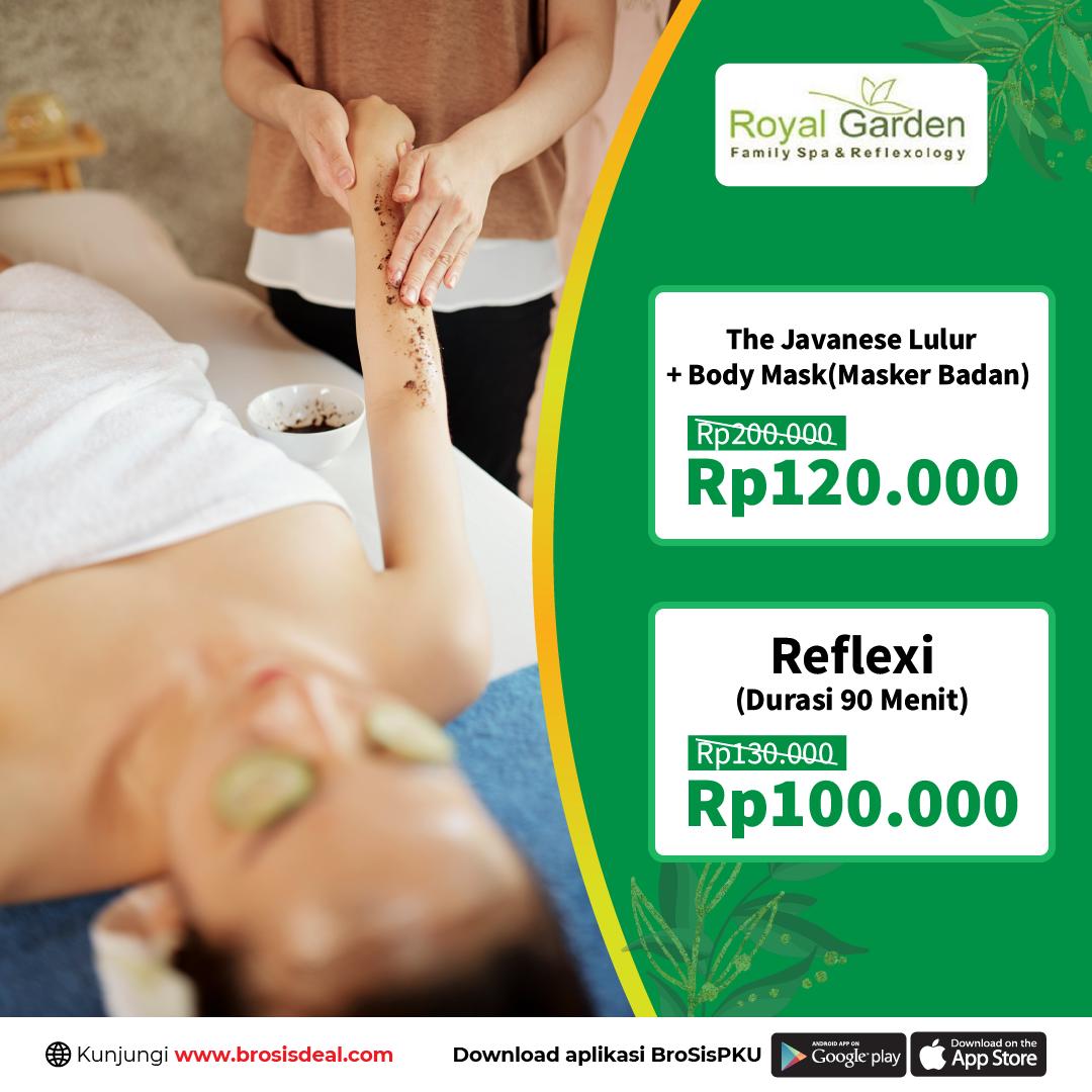 Royal Garden Family Spa Massage Deal