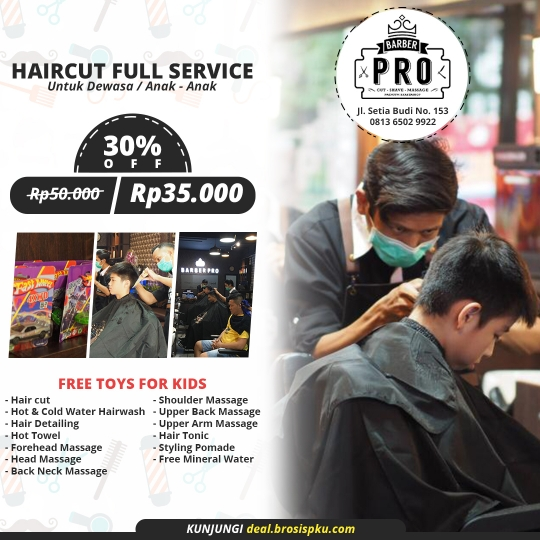Barber Pro Premium Cut Deal