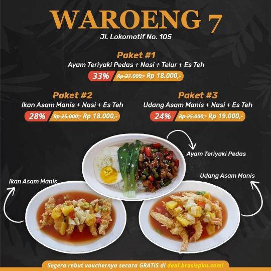 Waroeng Seven Opening Deal