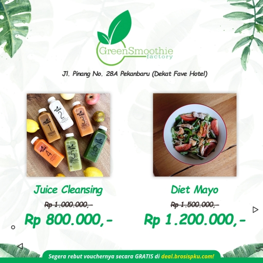 Greensmoothie Factory Deal