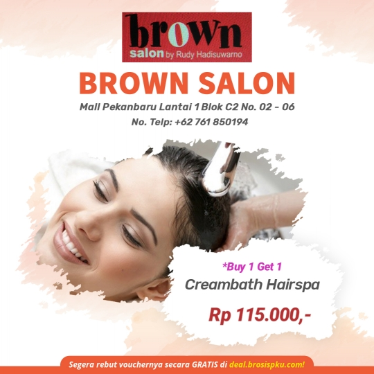 Brown Salon Creambath Deal