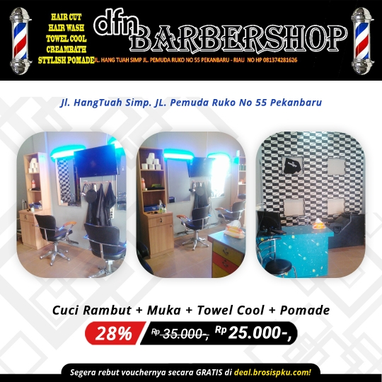 Dfn Barber Shop Deal