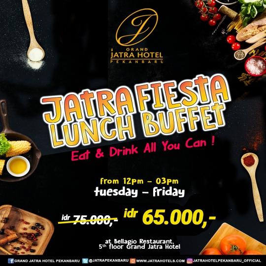 Grand Jatra Fiesta Lunch Buffet Deal (tuesday-friday)