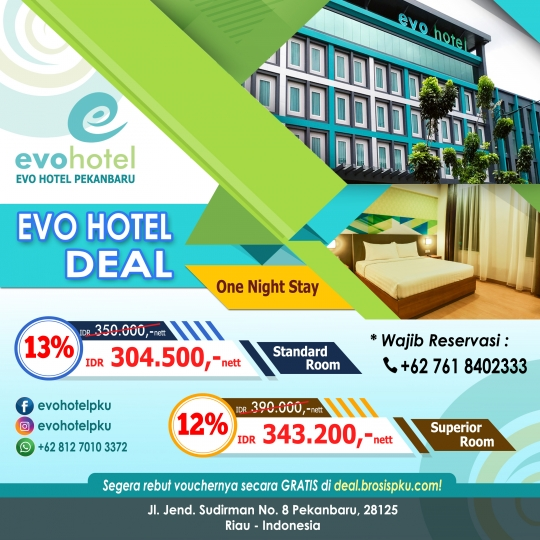 Evo Hotel One Night Stay Deal