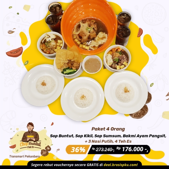 Chop Buntut Cak Yo Berempat Deal (monday - Friday)