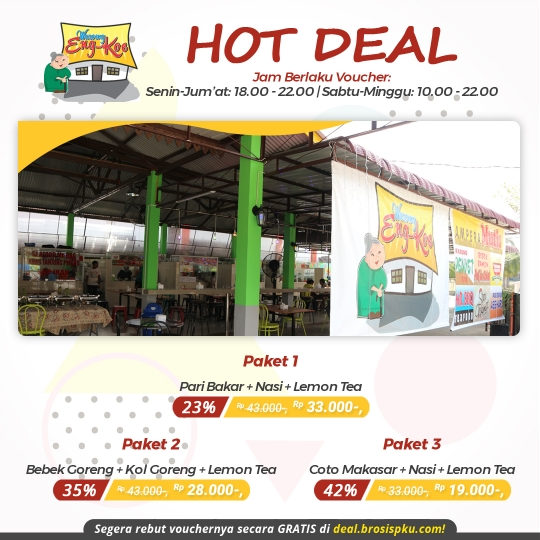 Waroeng Eng Koe Hot Deal