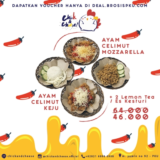 Chick N Cheese New Menu Deal (monday - Friday)