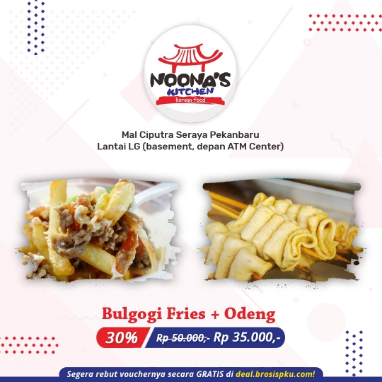 Noona Kitchen Bulgogi Odeng Deal