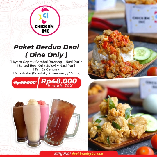 Chicken Inc Paket Berdua Deal