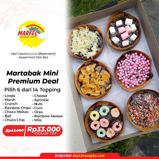 Rainbow Marfel Martabak Mini Premium Deal