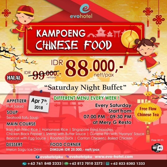 Mery G Resto Kampoeng Chinese Food Deal