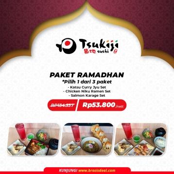 Tsukiji Sushi Paket Ramadhan Deal