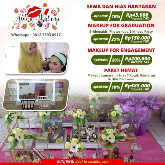 Aldira Makeup Hantaran Deal