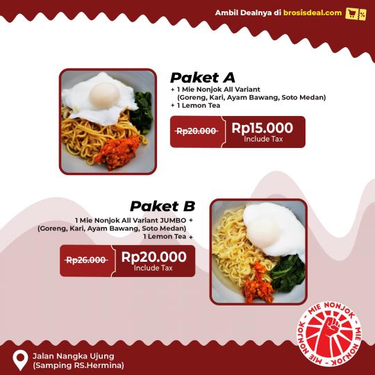 Ayam Nonjok Mie Deal